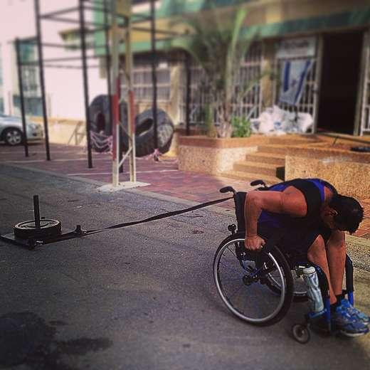 קרוספיט על (כיסא) גלגלים